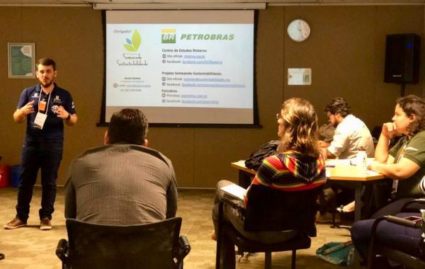 Projeto participou do 1º Workshop de Metodologias de Quantificação de Carbono