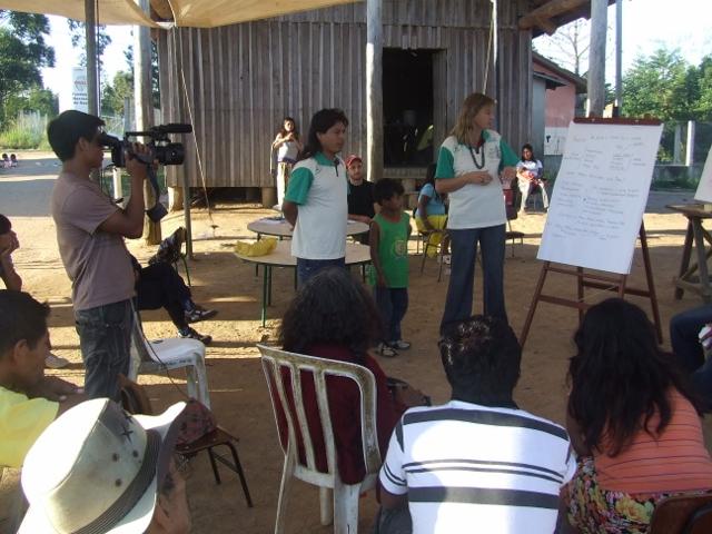 Oficina de Vídeo Guarani