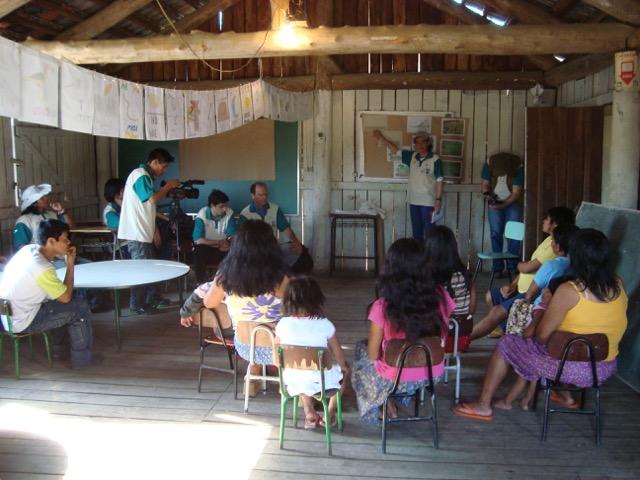 IECAM e aldeia da Lomba planejam plantios de verão