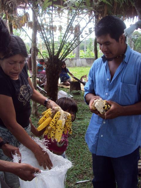 Karaí Adolfo mostra receitas guarani à base de milho