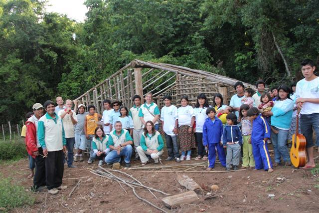 Encontro reúne 4 aldeias para discutir as ações com o IECAM