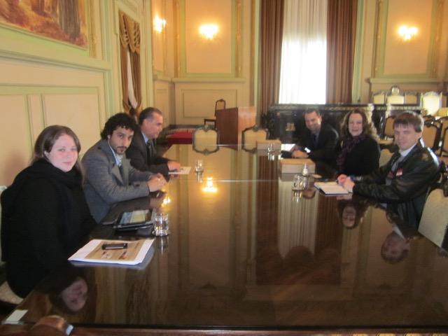 IECAM e Gov. Estado RS definem parceria em favor dos Guarani