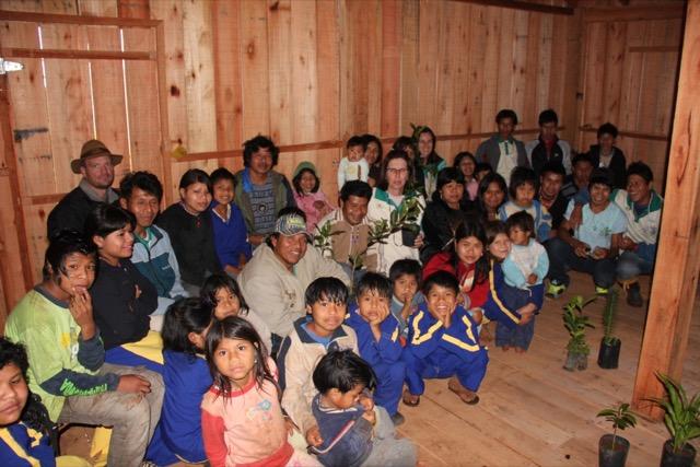 Guarani reforçam importância do cultivo de árvores