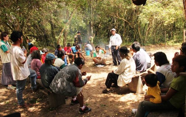 Encontro das oito aldeias do Projeto