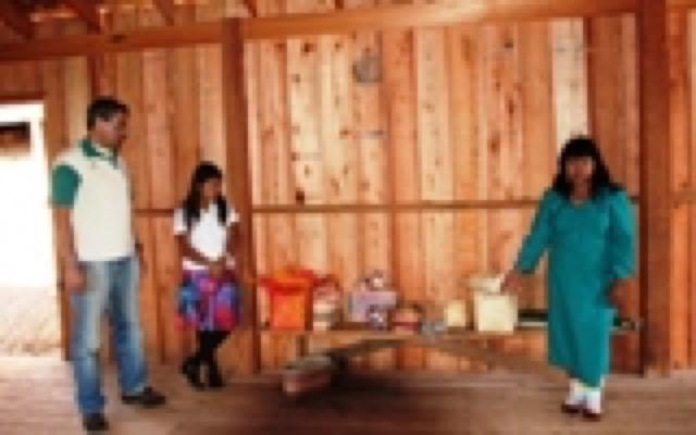 Artesanato indígena: Cestas e Balaios (Adjaka)