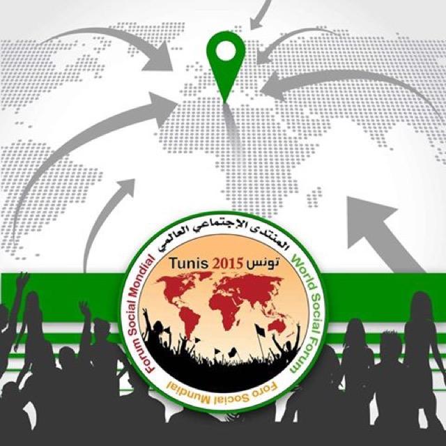 Forum Social Mundial 2015 na Tunísia