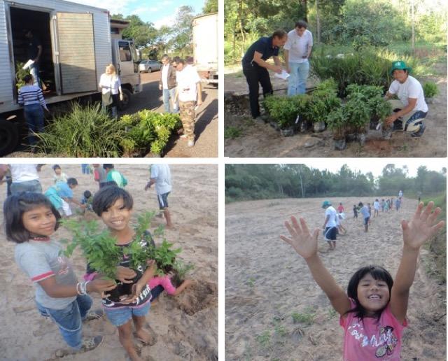 Atividades intensificadas na aldeia de Torres nesse inverno de 2015