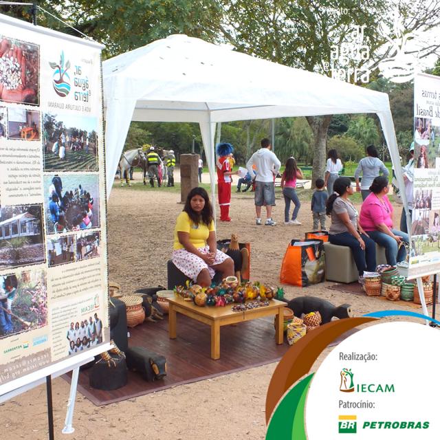 IECAM celebra Dia Internacional dos Povos Indígenas no Parque Farroupilha