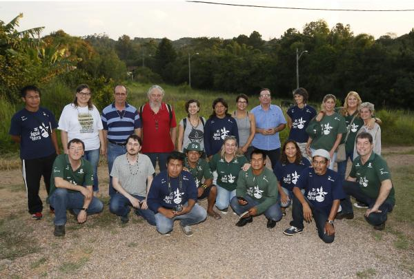 Encontro na Aldeia Teko'a Anhetengua recebe lideranças indígenas e parceiros