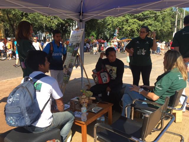 Semana do Índio finaliza com atividade no Brique da Redenção, em Porto Alegre
