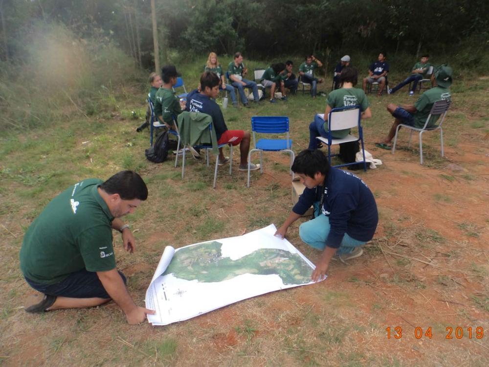 Encontro de Caciques e Lideranças Guarani na Aldeia Teko'a Anhetenguá