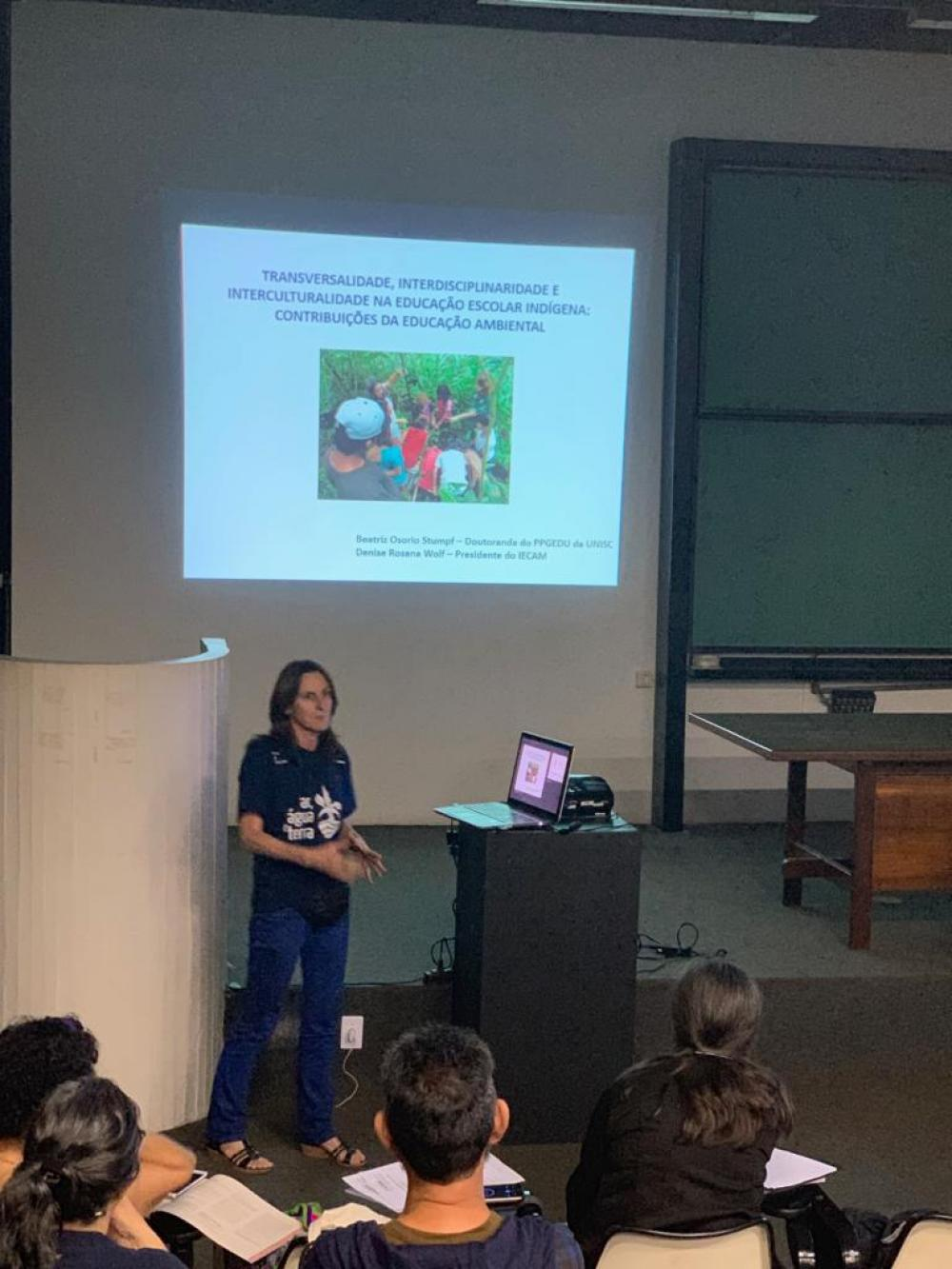 Educação indígena é tema de trabalho científico apresentado no 3º CIPIAL