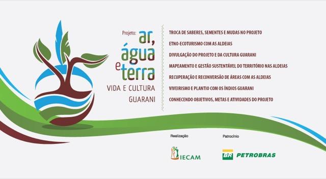 Novo DVD do Projeto Ar, Água, Terra: Vida e Cultura Guarani