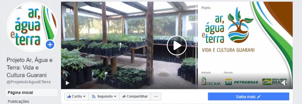Projeto inicia quadrimestre com capa nova no Facebook