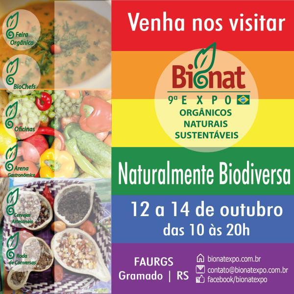 Projeto Ar, Água e Terra e IECAM presentes na 9ª BioNat Expo em Gramado